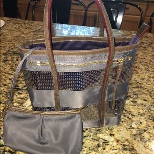 MZ WALLACE SMALL TOTE WITH BAG